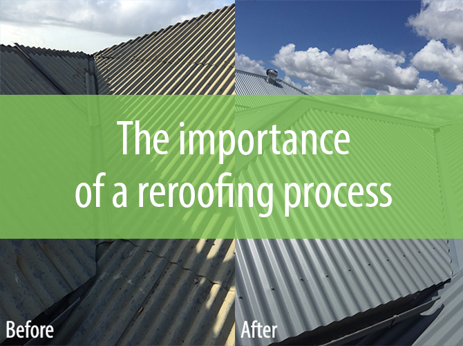 reroofing process roof replacement process signature roofing