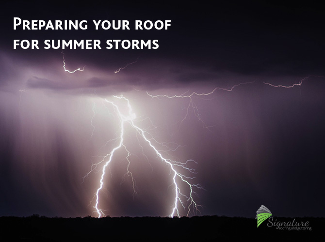 roof damage hail damage roof replacement signature roofing