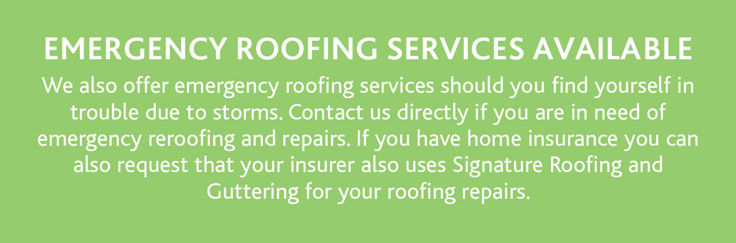 Emergency Roofing Services Available